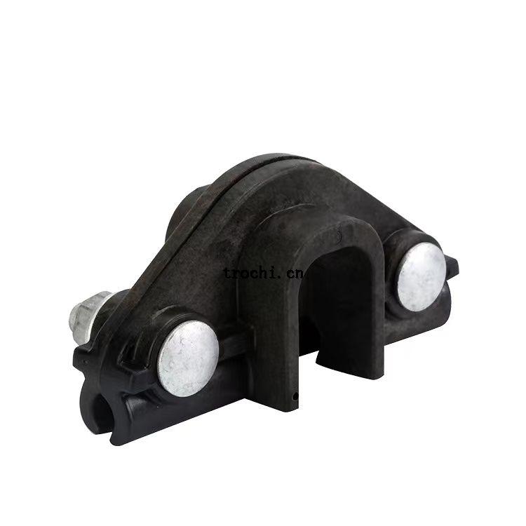 nylon suspension clamp for figure 8 cable